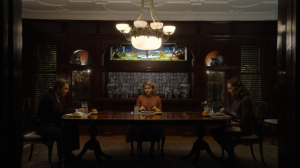 Brave New World- Awkward Scully Family Dinner