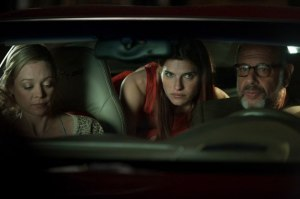 In a World- Lake Bell with Dad and Girlfriend