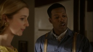 Love and Marriage- Libby and handyman Walter, played by Flex Alexander
