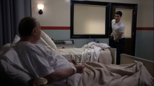 Involuntary- Ethan learns his vitals are fine, roommate talks of religion