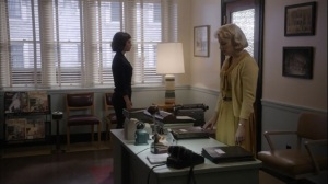Manhigh- Jane and Virginia in office after Lester leaves