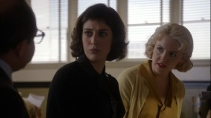 Manhigh- Virginia and Jane in hospital cafeteria