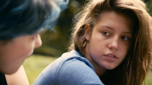 Blue is the Warmest Color- Adele Stares at Emma