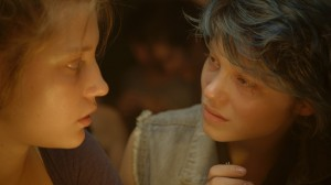 Blue Is the Warmest Color- Emma and Adele in Lesbian Bar