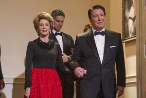 The Butler- Alan Rickman and Jane Fonda as Ronald and Nancy Reagan