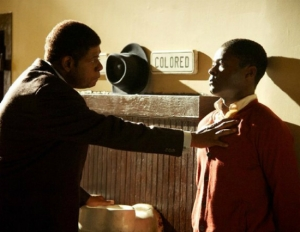 The Butler- Cecil and Louis confrontation after sit-in protest