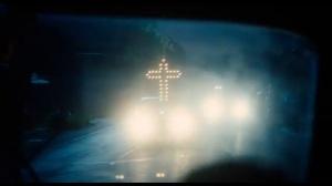 The Butler- Klan cross headlights