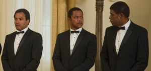 The Butler- Lenny Kravitz and Cuba Gooding Jr.