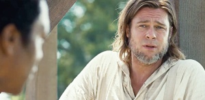 12 Years a Slave- Brad Pitt as Boss, talks to Solomon