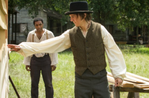 12 Years a Slave- John Tibeats and Solomon on foundation