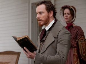 12 Years a Slave- Michael Fassbender and Sarah Paulson as Edwin and Mary Epps