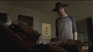 After- Carl rants to Rick