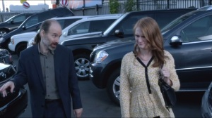 Associates- Matt Shea and Lizzy Gordon in Car Lot