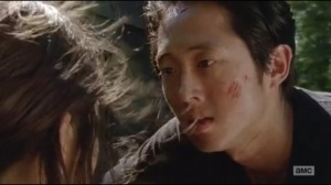 Claimed- Glenn awakens, asks Tara about the bus