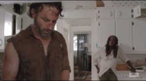 Claimed- Rick and Michonne make plans