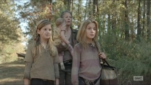 Inmates- Carol with Lizzie, Mika and Judith