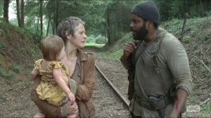 Inmates- Tyreese and Carol