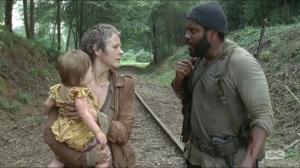 Inmates- Tyreese and Carol