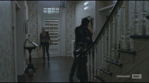 Alone- Daryl and Beth explore funeral home
