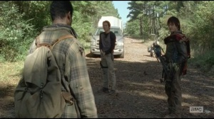Alone-Daryl and Glenn first meet Bob