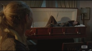 Alone- Daryl in coffin while Beth plays piano