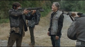 Alone- Daryl surrounded by unknown men