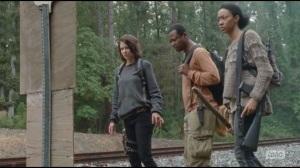 Alone- Maggie, Bob and Sasha find Terminus sign