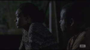 Alone- Sasha and Bob at night