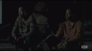 Alone- Sasha and Bob awake at night, listening to walkers