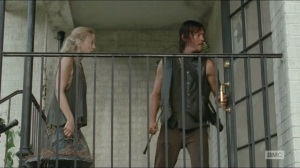 Still- Beth and Daryl arrive at Pine Vista Country Club