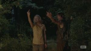 Still- Giving the one finger salute