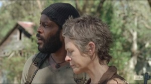 The Grove- Tyreese talks to Carol about the world being haunted