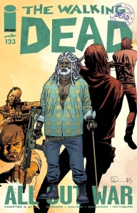 The Walking Dead #123 cover