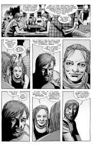 The Walking Dead #123- Rick and Andrea Talk