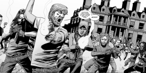 The Walking Dead #123- Rick leads the charge