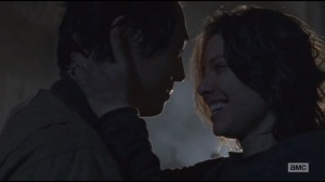 Us- Glenn and Maggie together again