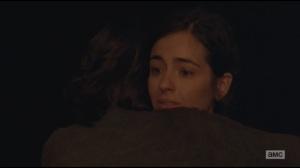 Us- Maggie hugs Tara