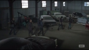 Us- Marauders explore shed filled with cars