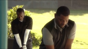 Zhang- Marty and Dre on driving range