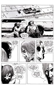 A- Comic book Abraham talks about Rick ripping apart man's body