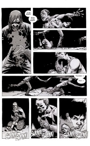 A- Comic book Rick kills Carl's rapist