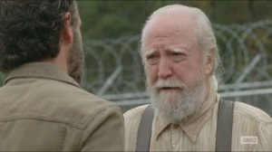 A- Hershel in flashback