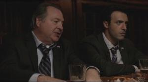 Clovis- Ben and Dan talk at bar