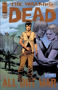 The Walking Dead #124 Cover