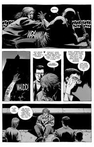 The Walking Dead #124- Eugene kills a man