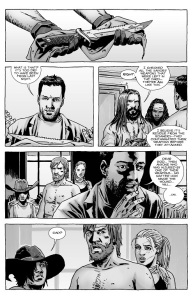 The Walking Dead #124- Rick's wound