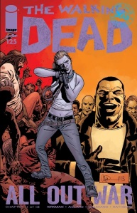 The Walking Dead #125- Cover
