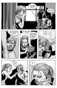 The Walking Dead #125- Nicholas died, Rick and Andrea talk