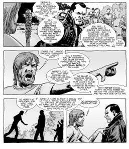 The Walking Dead #125- Rick and Negan talk
