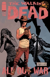 The Walking Dead #126 Cover